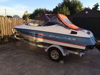 19ft Bayliner sports boat, cuddy, 4.3 Mercruiser. Ready to go