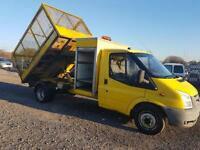 Ford Transit 2.4TDCi ( 115PS ) 350 LWB CAGED TIPPER