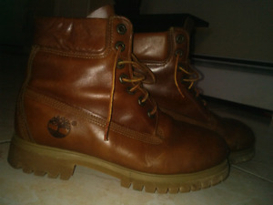 TIMBERLAND  Brown Leather Boots for sale!
