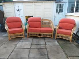 Beautiful cane furniture set