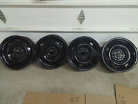 """16"""" Steel Rims and Wheel Covers"""