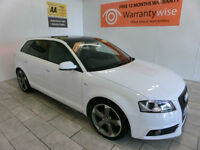 2012 Audi A3 2.0TDI 170ps S-LINE Black Edition PAN ROOF ***BUY FOR £62 A WEEK***
