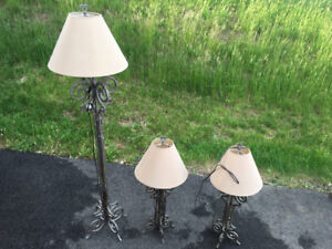 3 LAMPS - GREAT CONDITION - GREAT PRICE!