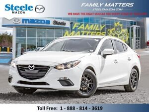 2016 Mazda Mazda3 GS  (Unlimited KM Warranty)