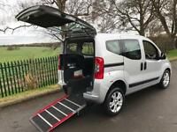 2012 Fiat Qubo 1.3 Multijet MyLife 5dr AUTOMATIC WHEELCHAIR ACCESSIBLE VEHICL...