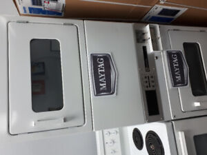 MAYTAG GAS STACKER  2 GAS DRYER  LIKE NEW