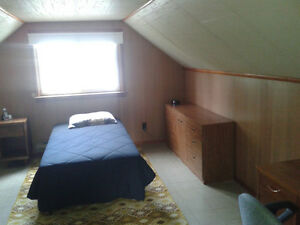 Large bedroom plus private sitting room