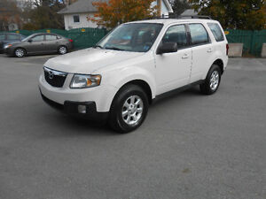 2009 MAZDA TRIBUTE 5 DOOR SUV, 3 YEAR WARRANTY INCLUDED