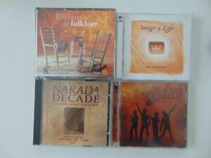 CD musicaux relaxation & réflexion(albums doubles)
