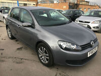 Volkswagen Golf 2.0TDI ( 140ps ) 2009MY SE.***1 OWNER WITH FULL SERVICE HISTORY