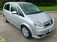 2010 Silver Vauxhall Meriva 1.6i 16v Club 106000 Mls CHEAP Small MPV YG10PGV