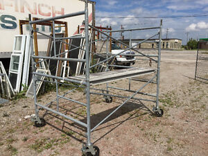 Galvanized scaffold frames,braces,wheels,decks