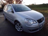 2009 Volkswagen Polo 1.4 Match 80 5dr Auto Great Runner! Automatic! 5 door H...