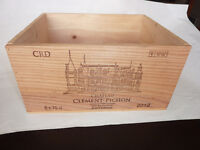 Wine crate (wood box for 6 bottles)