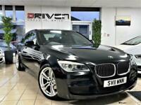 2011 BMW 730D M SPORT AUTO 7 SERIES + NAV + FSH + 360 CAMERA + FREE DELIVERY