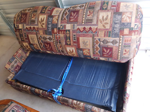 Pull Out Couch & Coffee Table