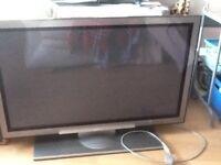 "Hitachi tv 42"" flat screen"