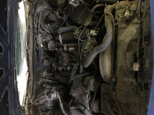 Buick 455 with transmission