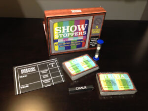 Show Stoppers - Movie and TV quiz game - new never played!