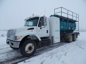 TRUCK SOLD NOW TANK AND SHOWER UNIT ONLY AT www.knullent.com