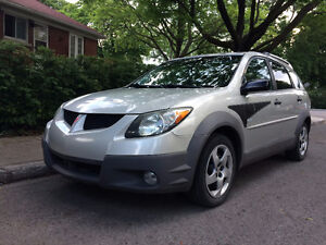 Pontiac Vibe Familiale  = Toyota Matrix