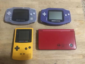 Nintendo Gameboy and Gameboy Color Systems and Games