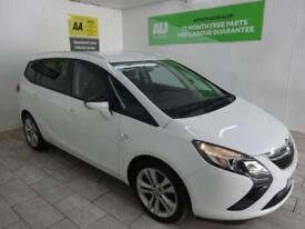 WHITE VAUXHALL ZAFIRA TOURER 2.0 SRI CDTI AUTO ***from £196 per month***