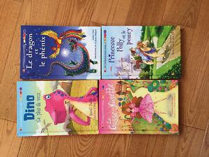Livres en français pour enfants/ados