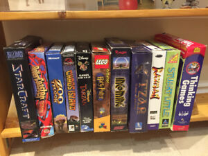 Vintage Big Box PC Games, Uncommons and Classics!