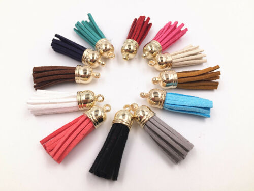 Tassel Pendants Polyester Trim Mixed Craft Applique Jewelry Making DIY Fashion