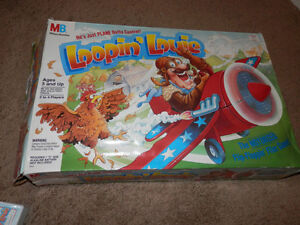 Extremely hard to find LOOPIN' LOUIE game-1992