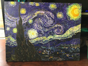 Starry Night Canvas Picture