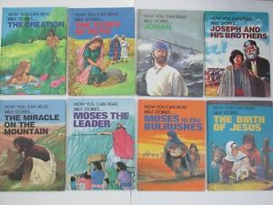 NOW YOU CAN READ BIBLE STORIES FOR CHILDRENS HARDCOVER BOOKS $2