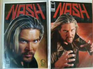 Kevin Nash comic issues 1 and 2 $5