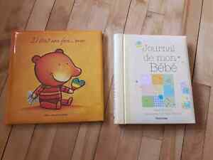 Journal de bord pour bébé