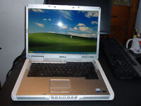 Used Dell Inspiron 6400 Core 2 Duo Laptop with DVD  for Sale