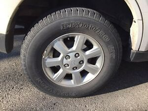 2008 Mazda Tribute (with winter tires and rims) West Island Greater Montréal image 6