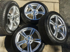 4 Michelin 225/R50/18 tires with Klasse Motor Sport Rims