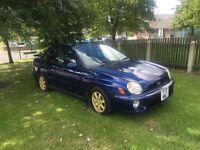 2001 Subaru Impreza 2.0 non turbo £760 120k