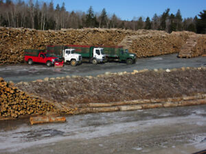 Firewood, pickup or delivery