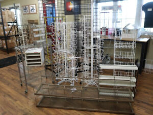 Display Racks for Trade Shows or Stores