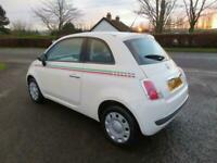 2009 59 FIAT 500 1.2 POP 3DR YES ONLY 35,000 MILES MOT DECEMBER 2021 CLIO FIESTA