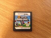 Super Mario game for DS