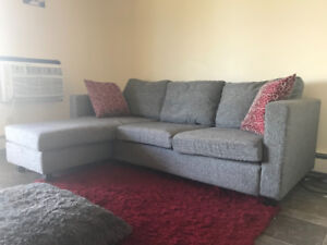 Grey Sectional Available for sale......$400