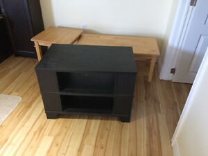 Tv stand plus tables