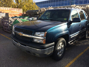 2006 Chevrolet Avalanche 4x4 Pickup Truck