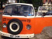 VW bay window camper (tax exempt)