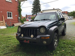 2002 Jeep Liberty Camionnette