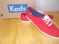 Brand New KEDS Red Ladies size 6.5...........$15.00
