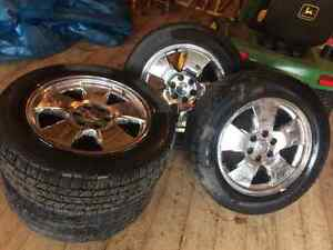 """20"""" Chevrolet rims (with tires)"""